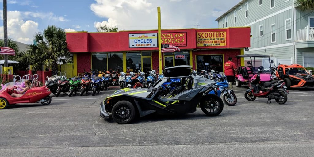 California Cycles Outlaw Rentals All Things Panama City Beach